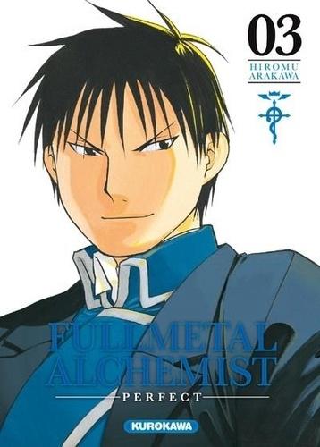 Couverture Fullmetal Alchemist, perfect, tome 03