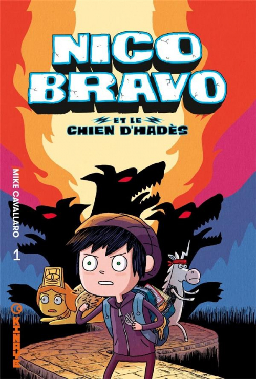 Couverture Nico bravo, tome 1 : Nico Bravo et le chien d'Hadès