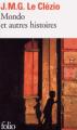 Couverture Mondo et autres histoires Editions Folio  2010