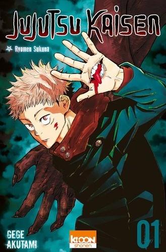 Couverture Jujutsu Kaisen, tome 01 : Ryomen Sukuna