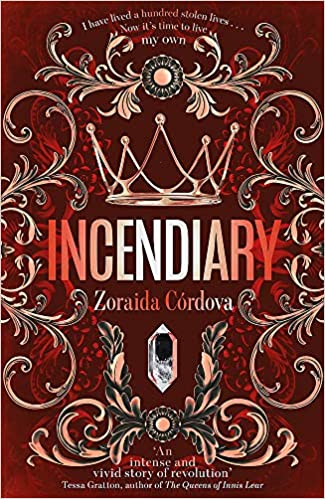 Couverture Hollow Crown, book 1: Incendiary