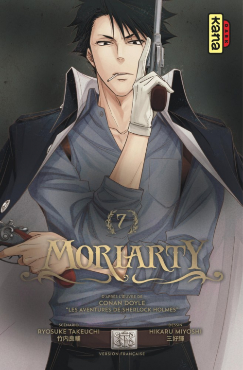 Couverture Moriarty, tome 7