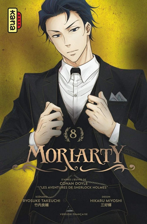Couverture Moriarty, tome 08