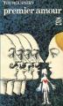 Couverture Premier amour Editions Garnier Flammarion 1974
