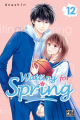 Couverture Waiting for spring, tome 12 Editions Pika (Shôjo - Cherry blush) 2020