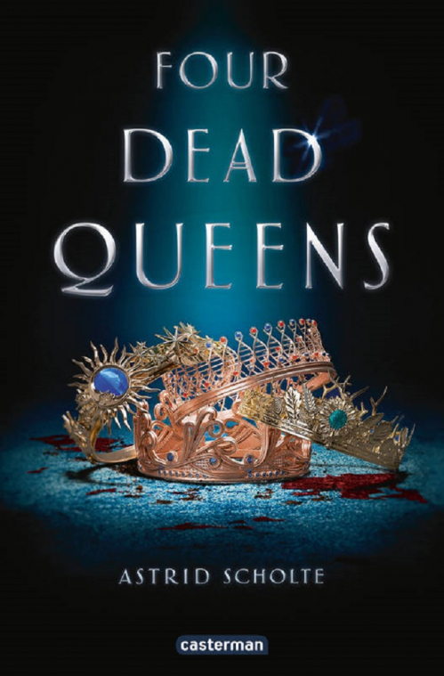 Couverture Four Dead Queens