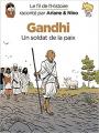 Couverture Le fil de l'Histoire raconté par Ariane & Nino, tome 16 : Gandhi Editions Dupuis 2020