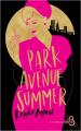 Couverture Park Avenue Summer Editions Belfond (Le cercle) 2020