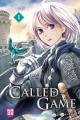 Couverture Called Game, tome 1 Editions Kazé (Shôjo) 2020