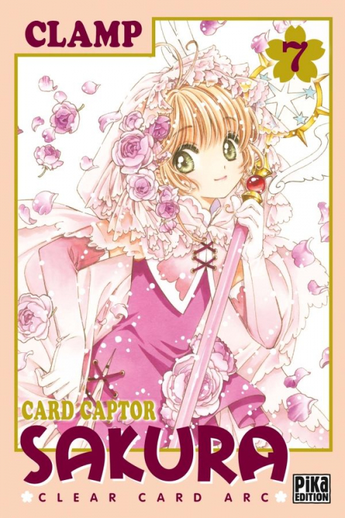 Couverture Card Captor Sakura : Clear Card Arc, tome 7