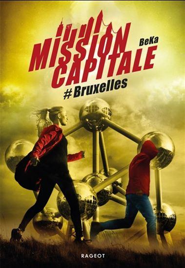 Couverture Mission capitale : #Bruxelles