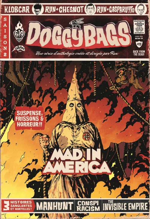 Couverture Doggybags, tome 15 : Mad In America