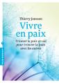 Couverture Vivre en paix Editions Marabout (Psychologie) 2013