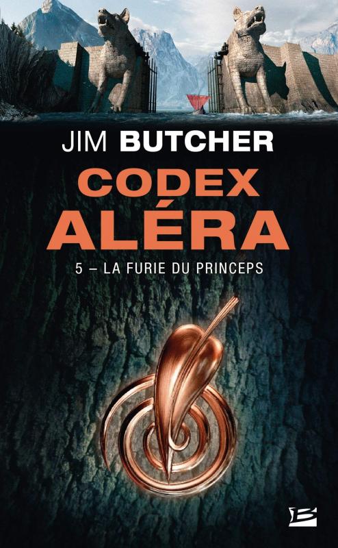 Couverture Codex Aléra, tome 5 : La furie du Princeps