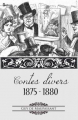 Couverture Contes Divers 1875 - 1880 Editions Feedbooks 1880