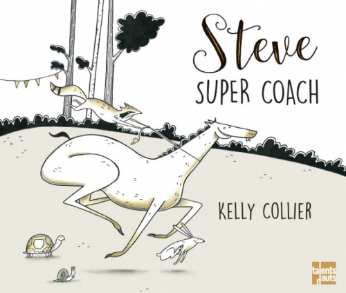 Couverture Steve, super coach