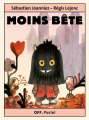 Couverture Moins bête Editions L'École des loisirs (Off-Pastel) 2019