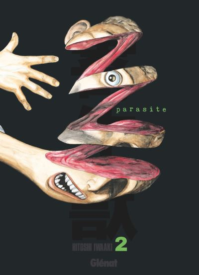 Couverture Parasite, édition originale, tome 2