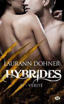 Couverture Hybrides, tome 11 :  Vérité