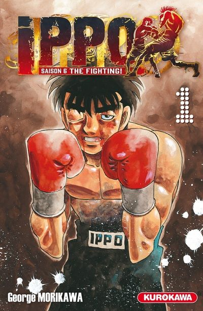 Couverture Ippo : The fighting, tome 01
