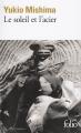Couverture Le soleil et l'acier Editions Folio  1993