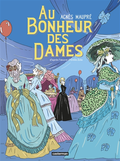 Couverture Au bonheur des dames (BD)