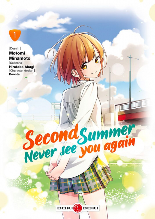 Couverture Second summer never see you again, tome 1