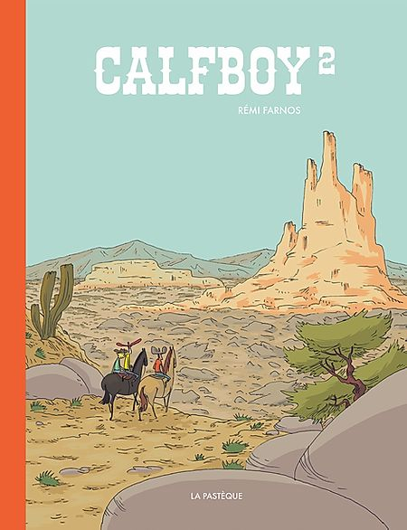 Couverture Calfboy, tome 2