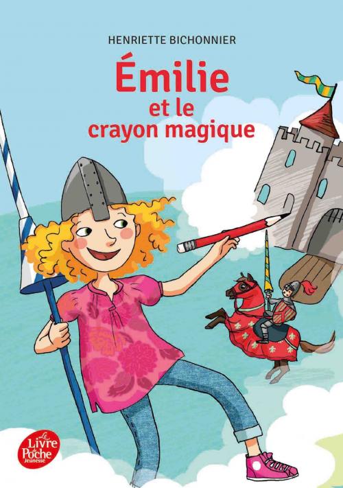 Couverture Émilie et le crayon magique