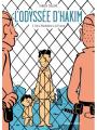 Couverture L'Odyssée d'Hakim, tome 3 : De la Macédoine à la France Editions Delcourt (Encrages) 2020