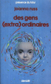 Couverture Des gens (extra)ordinaires Editions Denoël (Présence du futur) 1984