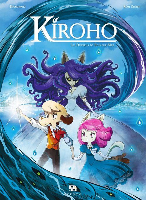 Couverture Kiroho, tome 1 : Les disparus de Bois-sur-Mer