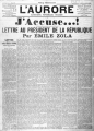 Couverture J'accuse ! et autres textes sur l'affaire Dreyfus / J'accuse ! : Emile Zola et l'affaire Dreyfus Editions Ebooks libres et gratuits 2013