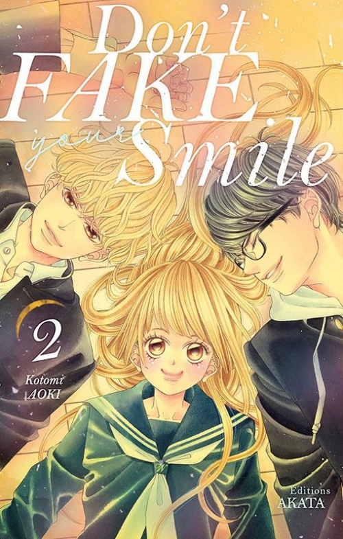 Couverture Don't fake your smile, tome 2