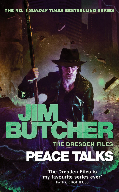 Couverture Les dossiers Dresden, tome 16