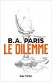 Couverture Le Dilemme Editions Hugo & cie (Thriller) 2020