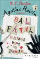 Couverture Agatha Raisin enquête, tome 15 : Bal fatal Editions France Loisirs (Piment - Noir) 2020