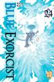 Couverture Blue Exorcist, tome 24 Editions Kazé (Shônen up !) 2020