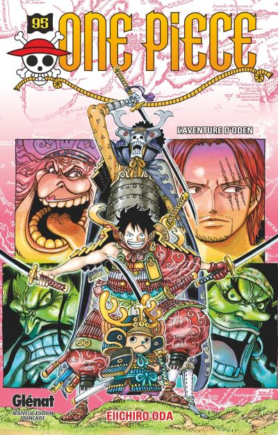 Couverture One Piece, tome 95 : L'aventure d'Oden