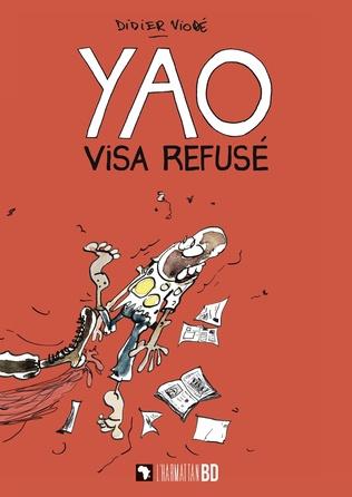 Couverture Yao, visa refusé