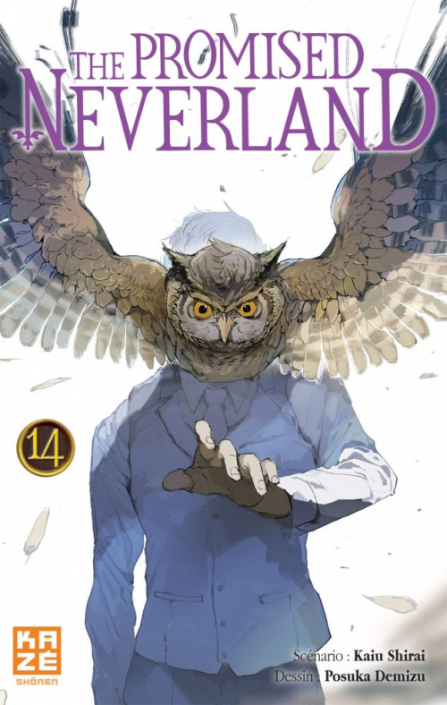 Couverture The Promised Neverland, tome 14