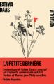 Couverture La petite dernière  Editions Noir sur Blanc (Notabilia) 2020