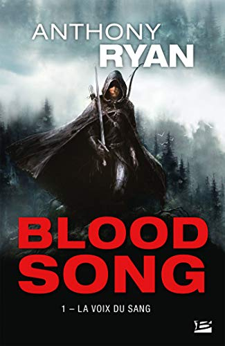Couverture Blood song, tome 1 : La voix du sang