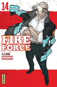 Couverture Fire Force, tome 14