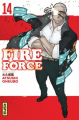 Couverture Fire Force, tome 14 Editions Kana (Shônen) 2020