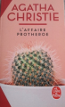 Couverture L'Affaire Protheroe Editions Le Livre de Poche 2019
