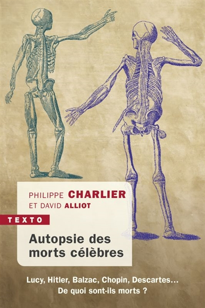Couverture Autopsie des morts célèbres