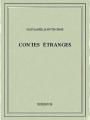 Couverture Contes étranges Editions Bibebook 2015