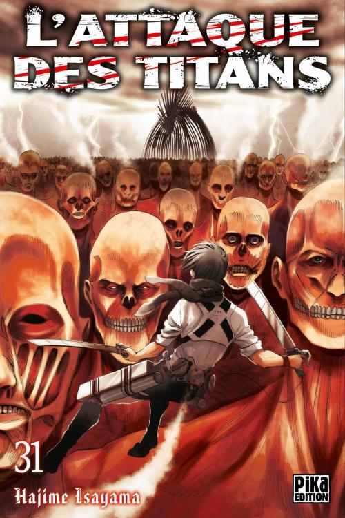 Couverture L'Attaque des Titans, tome 31