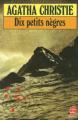 Couverture Dix petits nègres Editions Le Livre de Poche 1983